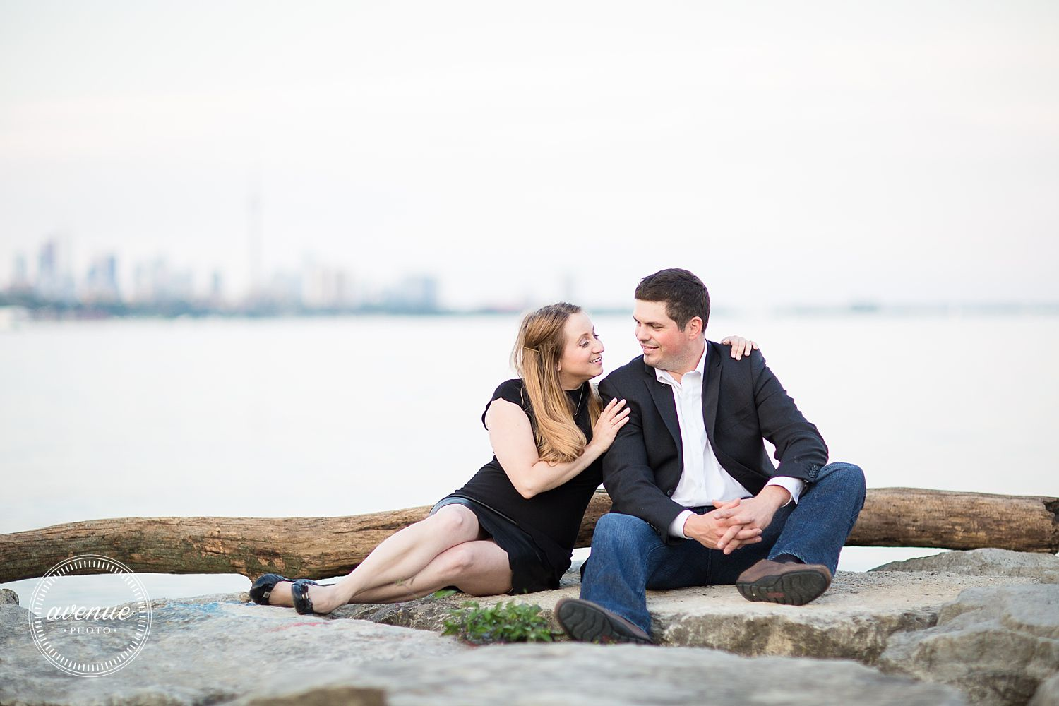 Humber Bay Bridge Engagement Photos Toronto Waterfront