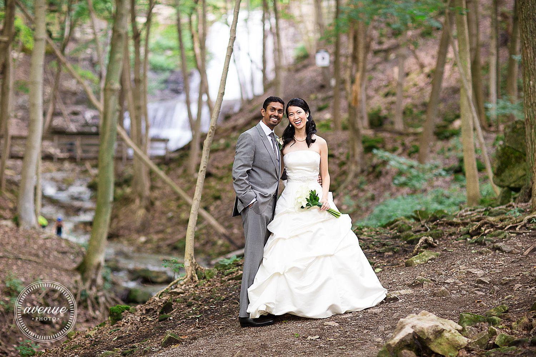 Sherman Falls Wedding Photos