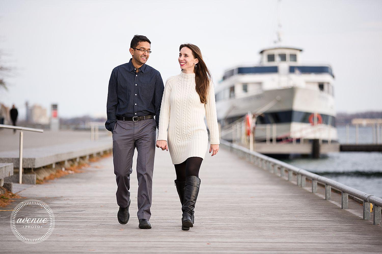 Toronto Waterfront Engagement // Toronto Wedding Photographer