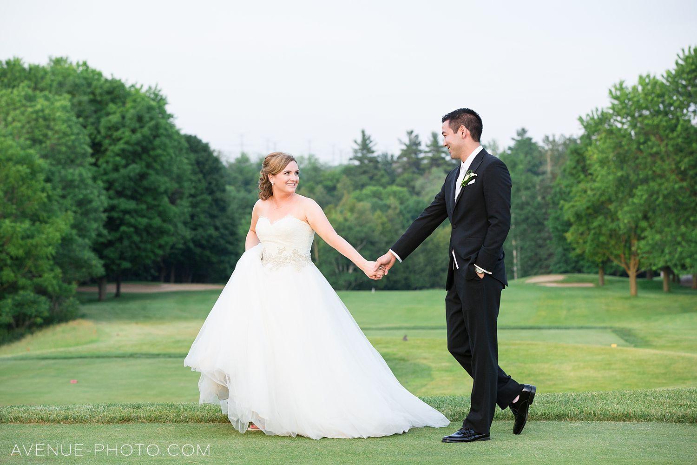 Cedar Brae Golf Club Wedding // Toronto Wedding Photographer