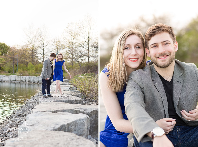 Toronto Waterfront Engagement Photos