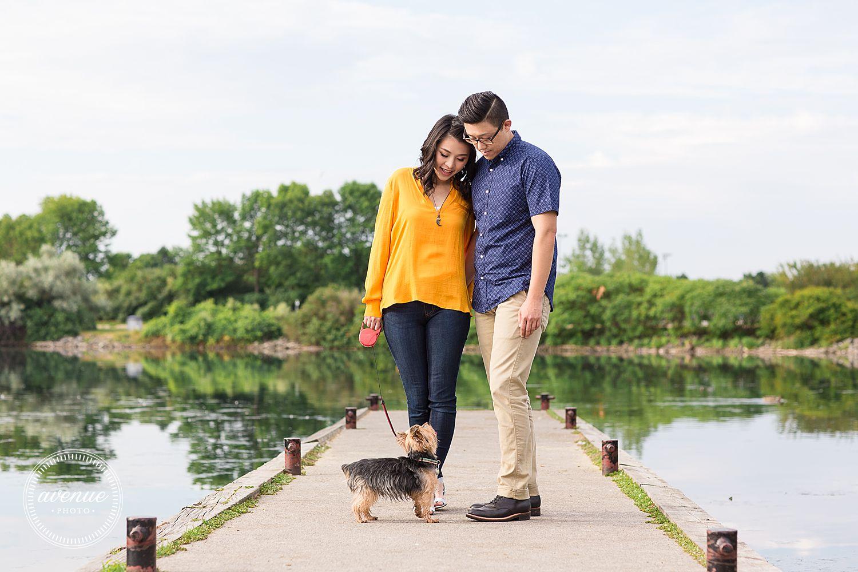 Humber Bay Park Engagement Photos