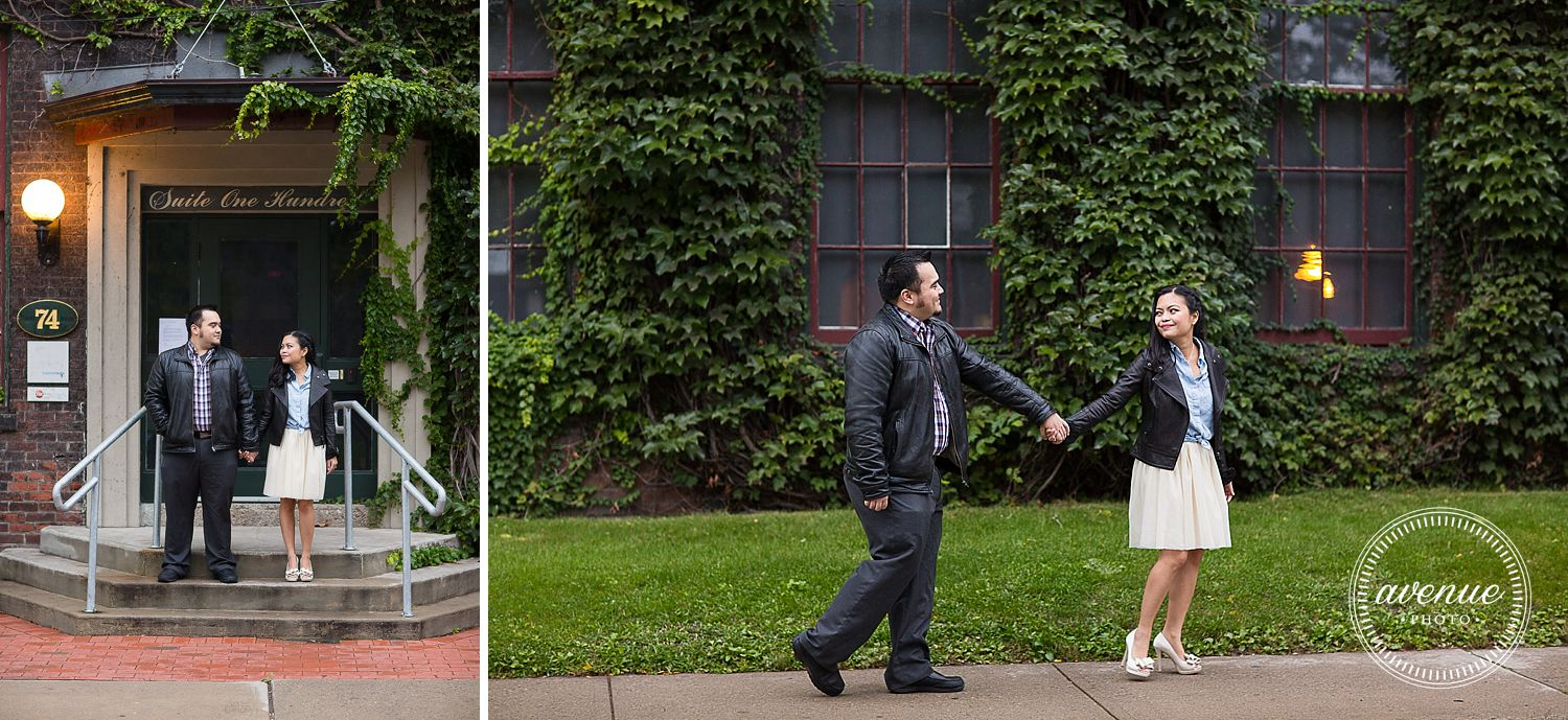 Trinity Bellwoods and Liberty Village Engagement / Avenue Photo
