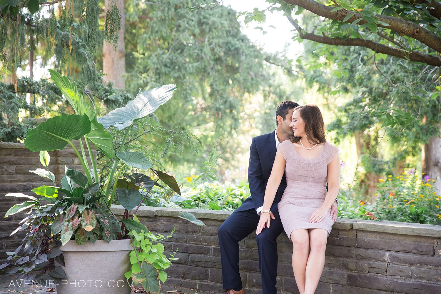 Edwards Gardens Engagement Photos - Toronto Wedding Pho
