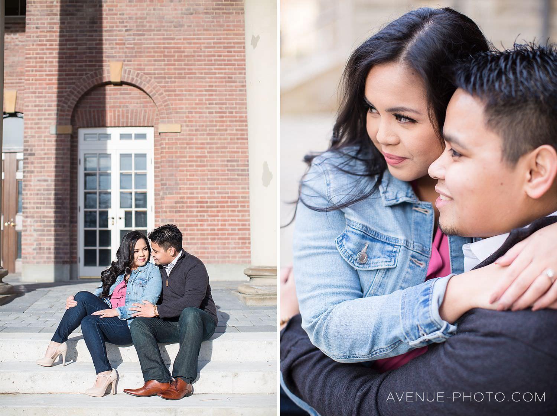 University of Toronto Engagement Photos