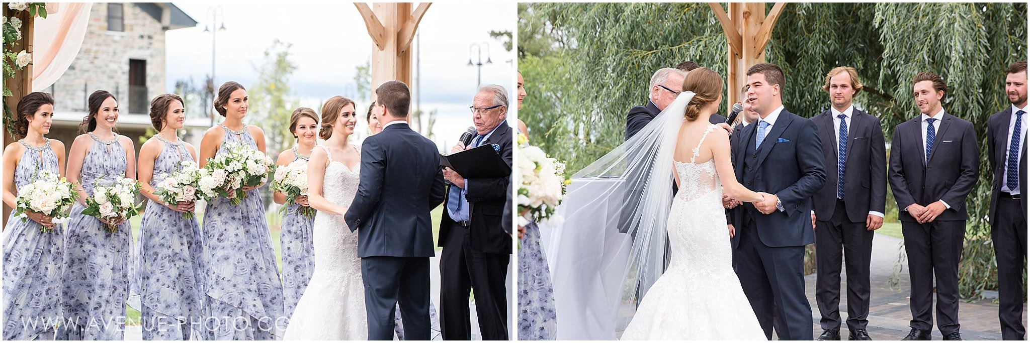 The Arlington Estate Wedding Photos - Kleinburg Wedding Photography, Outdoor Ceremony