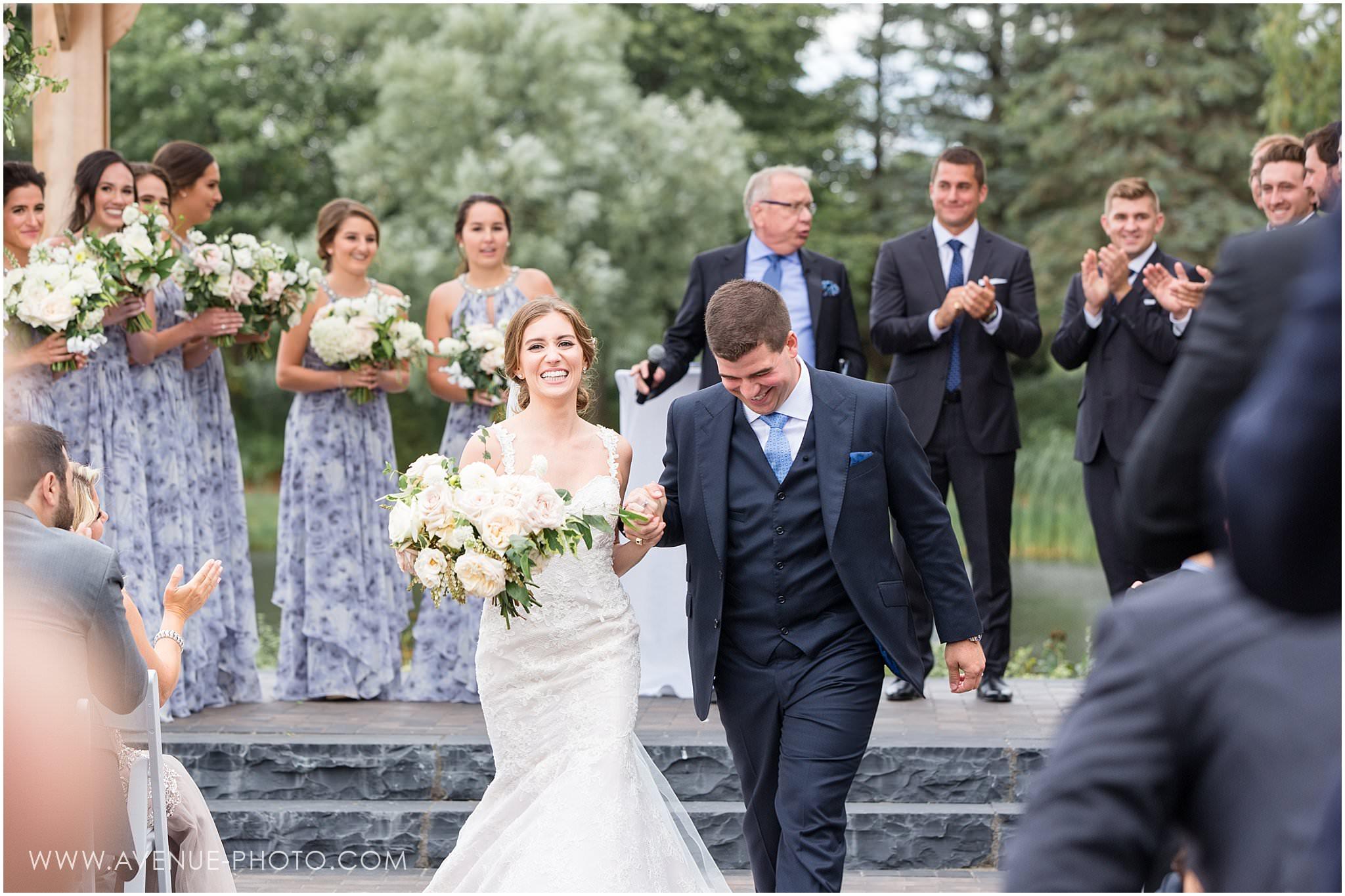 The Arlington Estate Wedding Photos - Kleinburg Wedding Photography, Luxury Wedding Outdoor Ceremony