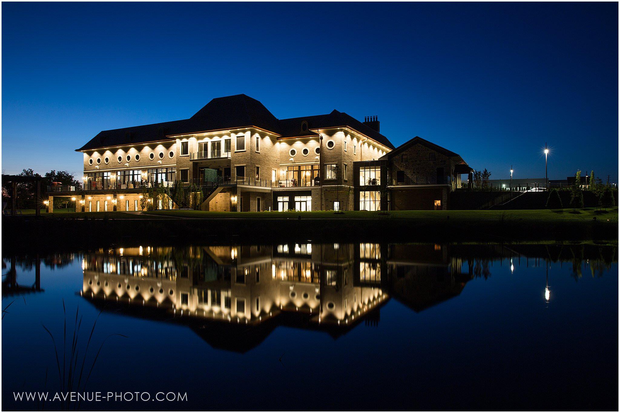The Arlington Estate Wedding Photos - Kleinburg Wedding Photography, Exterior at Night