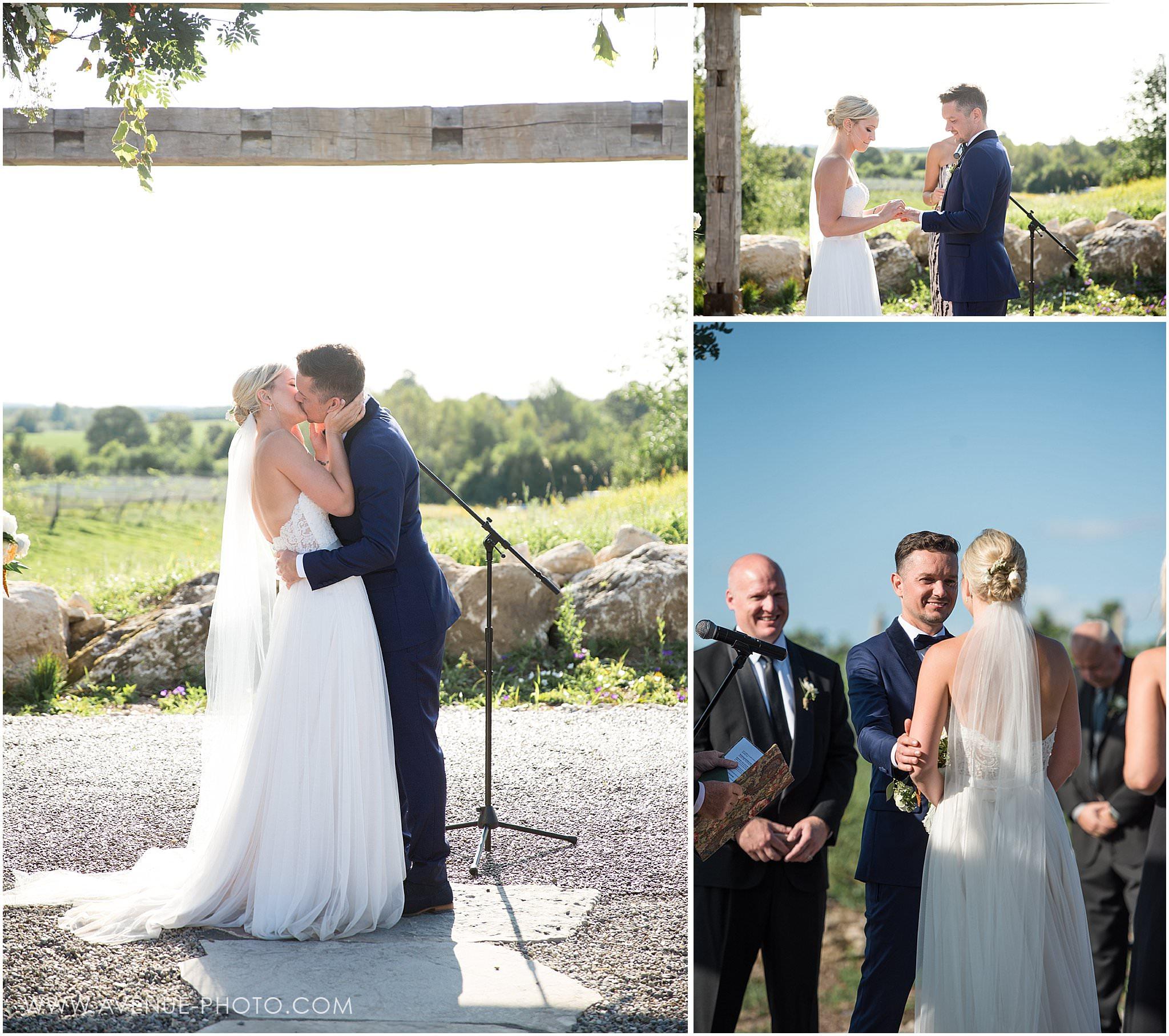 Adamo Estate Winery Wedding Photos, Hockley Valley Wedding Photos, Orangeville Wedding Photos, Vineyard Wedding, Avenue Photo, Ceremony
