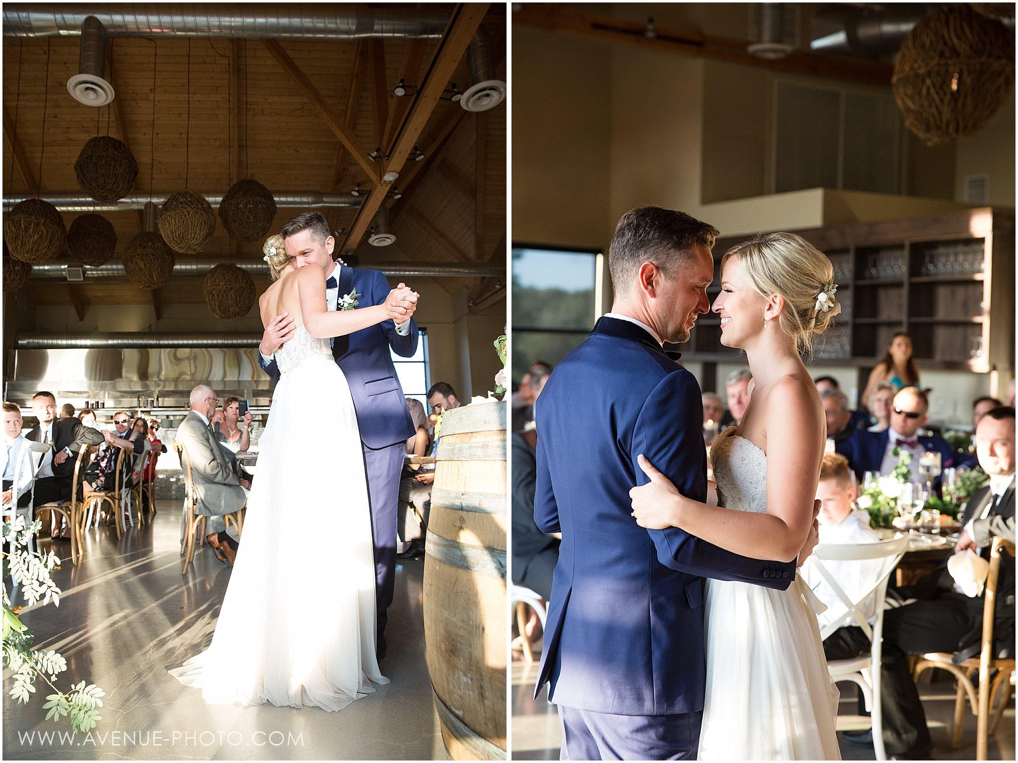 First Dance, Adamo Estate Winery Wedding Photos, Hockley Valley Wedding Photos, Orangeville Wedding Photos, Vineyard Wedding, Avenue Photo