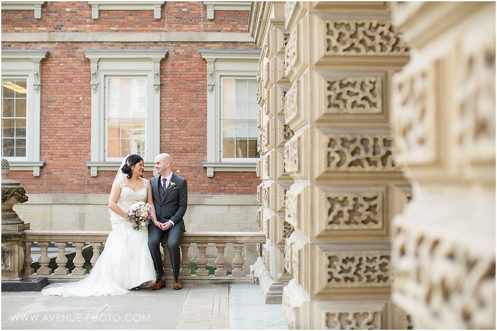 Osgoode Hall and Eglinton Grand Spring Wedding inspired by La La Land and Old Hollywood
