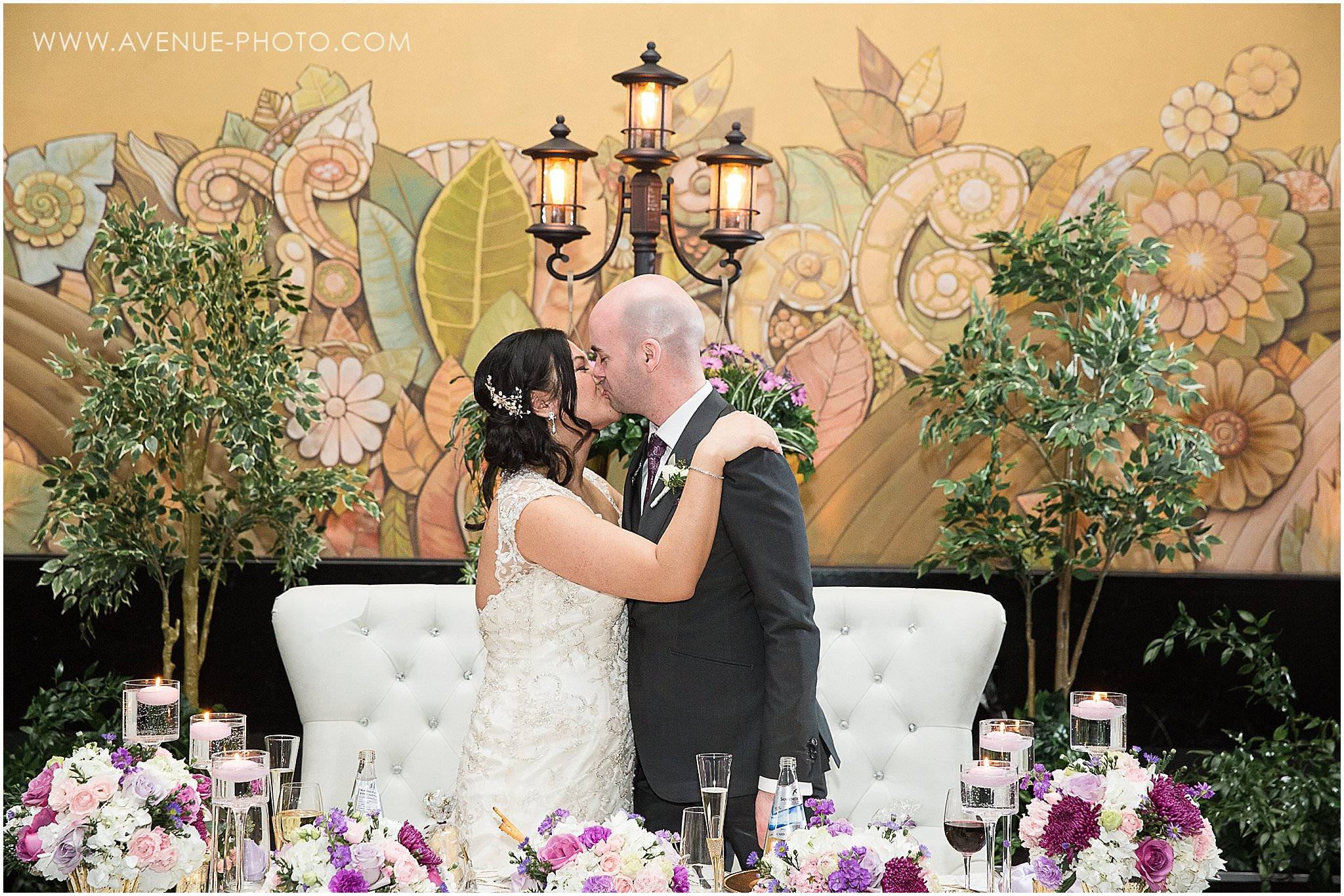 Eglinton Grand Spring Wedding inspired by La La Land and Old Hollywood