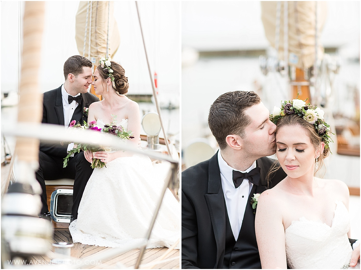 Boulevard Club Wedding, University of St Michael's College wedding, Avenue Photo, Yacht Club Wedding. Vintage sail boat wedding photos