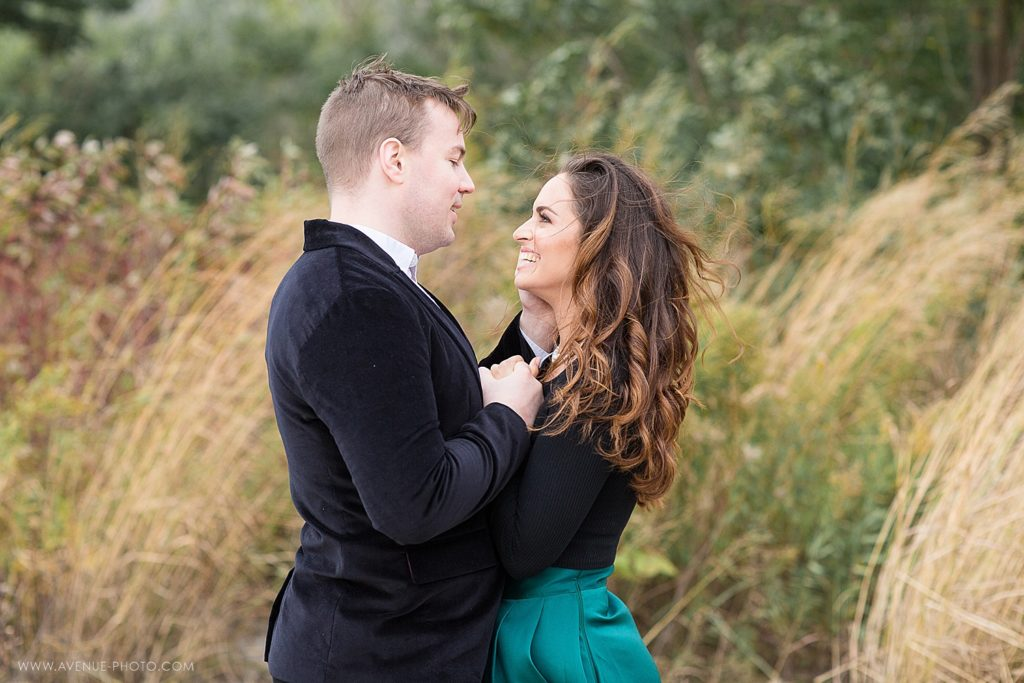 Fall Scarborough Bluffs Engagement Photo Session