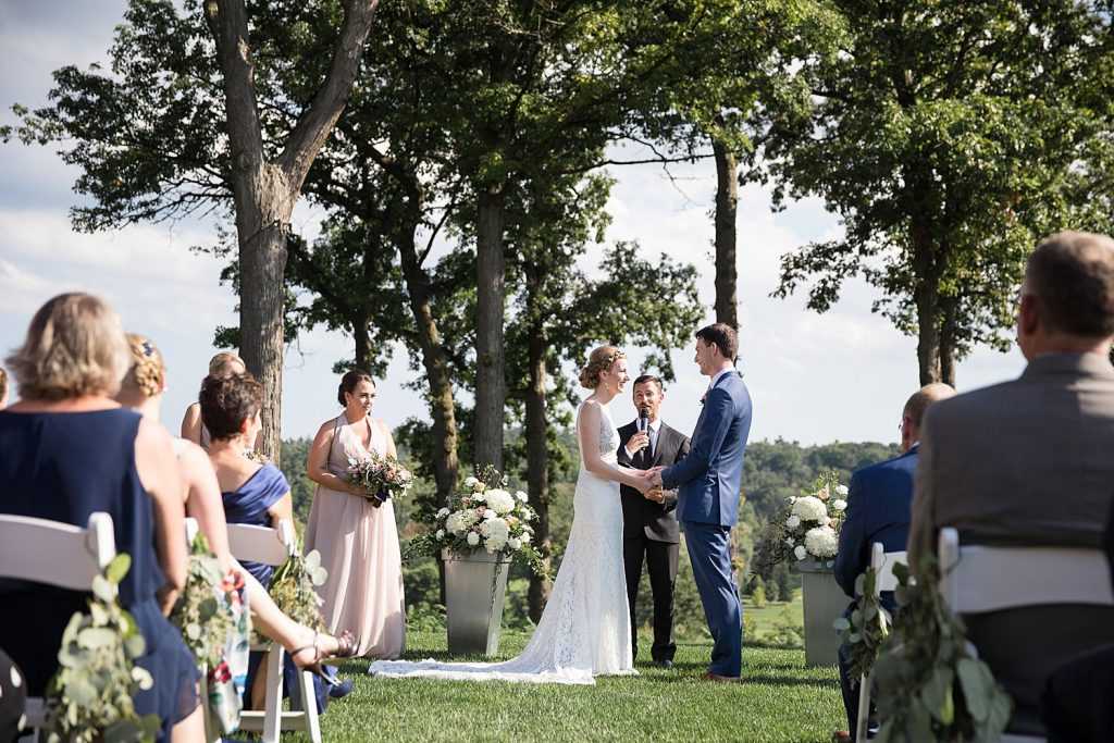 Ceremony Credit Valley Golf Course Wedding