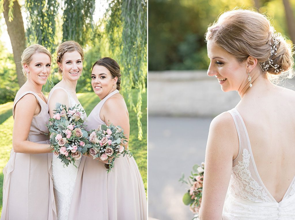 Boho Credit Valley Golf Course Wedding