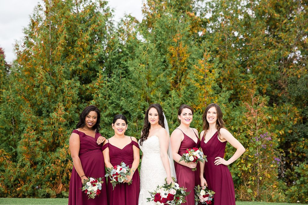 Deer Creek Golf Club Wedding Bridesmaids
