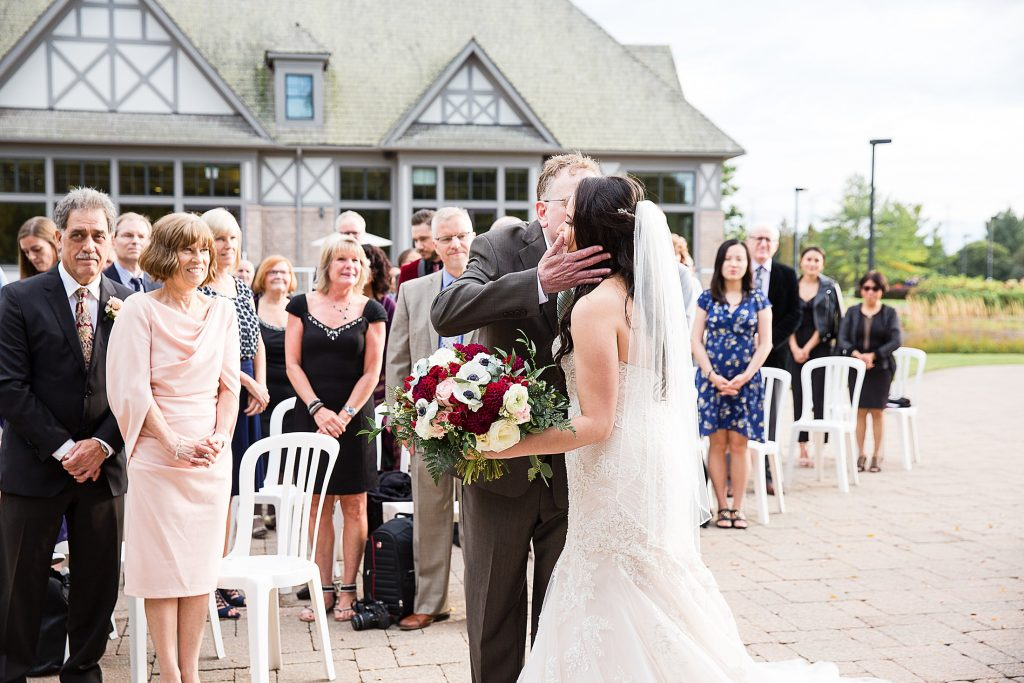 Deer Creek Golf Club Wedding Ceremony