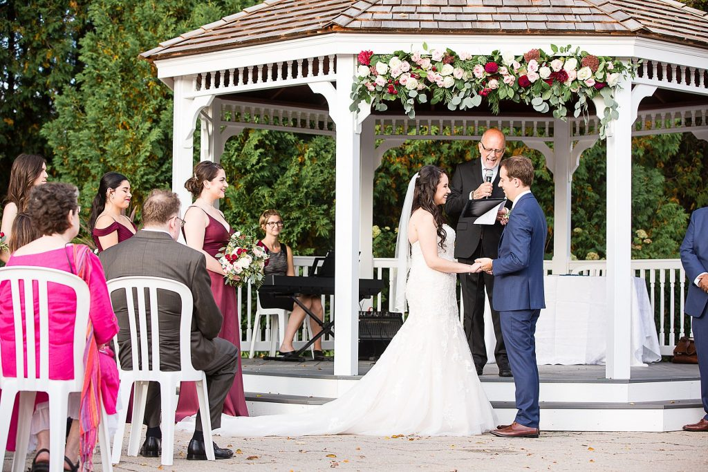 Deer Creek Golf Club Wedding Gazebo